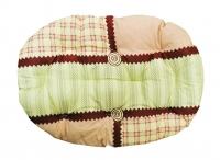 Подстилка овальная №1, текстиль, р-р 40*30*7см