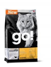 1,82кг GO! NATURAL Holistic Беззерновой для котят и кошек с чувств. пищеварением со свежей уткой (Sensitivity + Shine Grain Free Duck Cat Recipe)