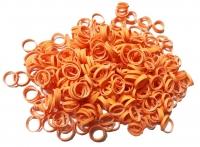 Резинки для собак р-р M,оранжевый