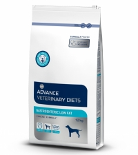 Корм Advance для собак при патологии ЖКТ с ограниченным содержанием жиров, Gastro Enteric (12кг)