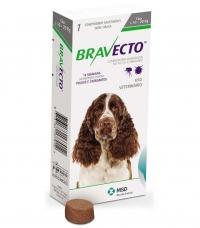 BRAVECTO БРАВЕКТО таблетка от блох и клещей для собак весом от 10 до 20