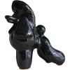 Скульптура фарфор Пудель