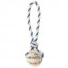 """Мяч на веревке """"DENTAfun"""" Ф 7 см / 24 см, резина /хлопок"""