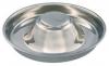 Стальная миска для щенков, объем 4л / диаметр 38см