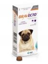 BRAVECTO БРАВЕКТО таблетка от блох и клещей для собак весом от 4,5 до 10