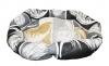 Лежак овальный №5, текстиль, р-р 75*55*19см