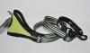 Hurtta Jogging Leash Хурта Поводок регулируемый светоотражающий светло-зеленый, 60-90см*20 мм