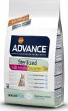 Корм Advance для стерилизованных кошек старше 10 лет, Sterilized 10 Years (1,5кг)