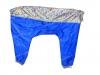 Комбинезон серо-синий д\собак без подклада,кобель,р.55-0