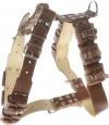 COLLAR Шлея с утяжелителями №1 10*450гр.  коричневый