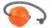 Мячик ЛАЙКЕР Корд на шнуре ф7см длина шнура 30см