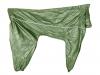 Комбинезон зеленый д\собак без подклада,кобель,р.65-0